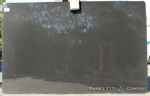 Absolute Black Granite Countertops San Francisco, California. Slab view — Slab View