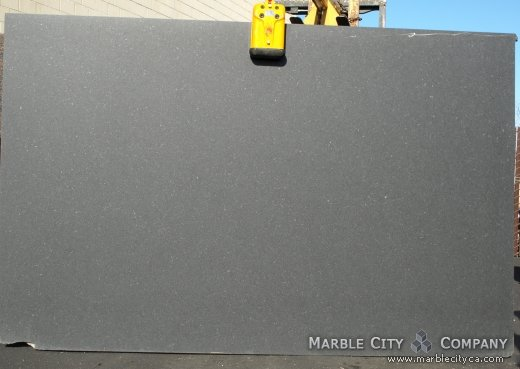 Absolute Black Honed Granite Countertops San Francisco, California. Slab view — Slab View