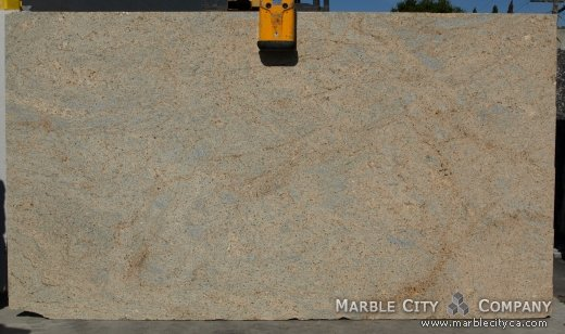 Kashmire Gold - Granite Countertops San Jose, California. Slab view — Slab View