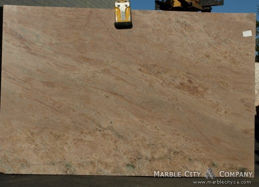 Juparana Vyhara - Granite Countertops San Francisco, California. Slab view — Slab View