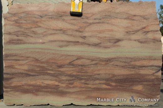 Aqua Bordeaux - Granite Countertops San Jose, California. Slab view — Slab View