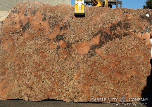 Juparana Bordeaux - Granite Countertops Bay Area, California. Slab view — Slab View