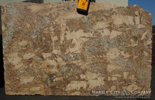 Persa Gold - Granite Countertops San Francisco, California. Slab view — Slab View