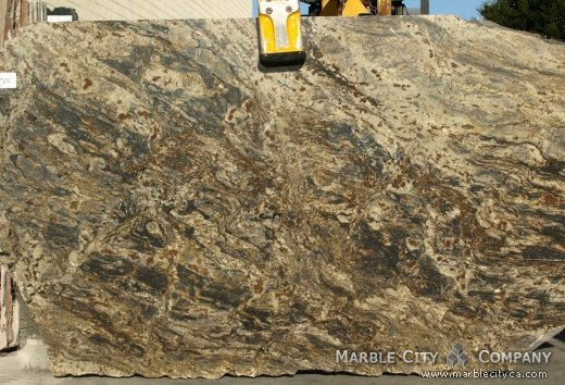 Harricane Blue - Granite Countertops Bay Area, California. Slab view — Slab View