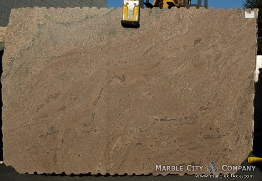Juparana Natalia - Granite Countertops San Jose, California. Slab view — Slab View