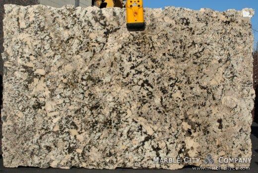 White Argento - Granite Countertops Bay Area, California. Slab view — Slab View
