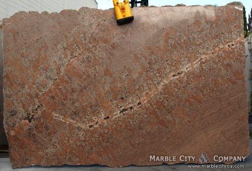 Red Bordeaux - Granite Countertops San Francisco, California. Slab view — Slab View