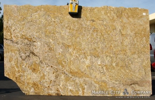 Golden Sand - Granite Countertops San Jose, California. Slab view — Slab View