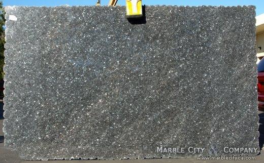 Blue Pearl - Granite Countertops San Francisco, California. Slab view — Slab View