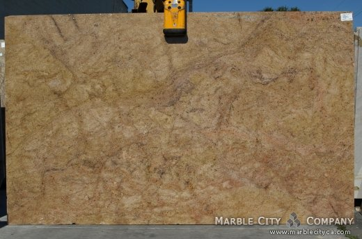 Madura Gold - Granite Countertops Bay Area, California. Slab view — Slab View