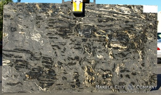 Black Cosmic - Granite Countertops San Francisco, California. Slab view — Slab View