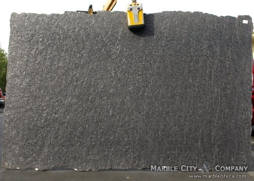 Matrix Brashed - Granite Countertops San Francisco, California. Slab view — Slab View