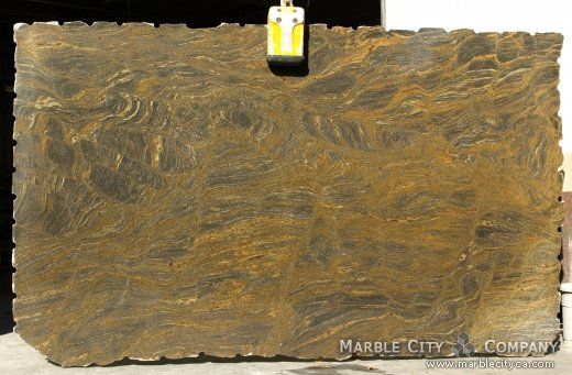 Fantastic Brown - Granite Countertops San Francisco, California. Slab view — Slab View
