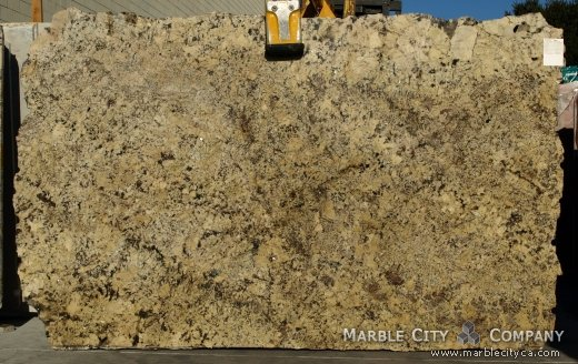 Absolute Cream - Granite Countertops Bay Area, California. Slab view — Slab View