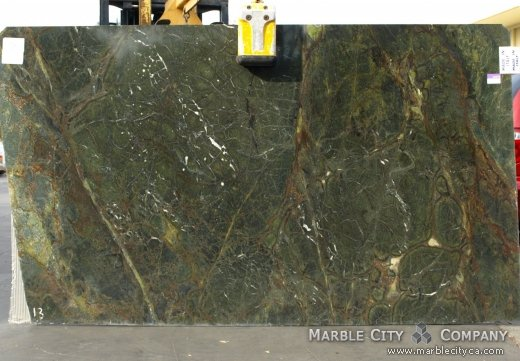 Golden Lighting - Granite Countertops Bay Area, California. Slab view — Slab View
