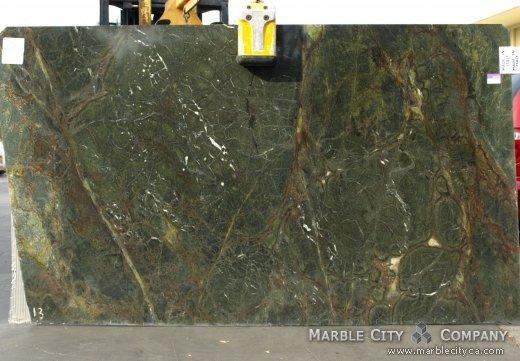 Golden Lighting - Granite Countertops Bay Area, California. Slab view — Slab View