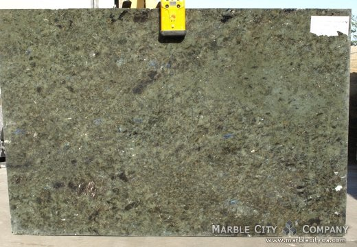Labrodorite Blue Green - Granite Countertops San Jose, California. Slab view — Slab View
