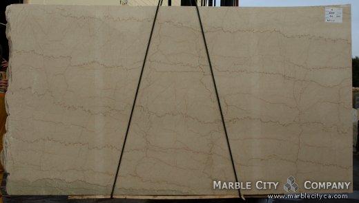 Botticino - Marble Countertops San Jose, California. Slab view — Slab View