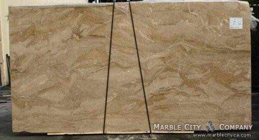 Brecia Oniciata - Marble Countertops San Jose, California. Slab view — Slab View