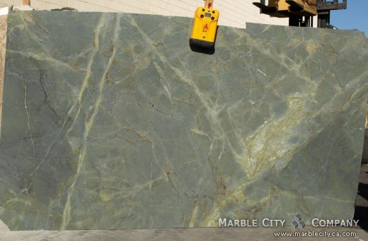 Golden Lighting Brashed - Granite Countertops San Francisco, California. Slab view — Slab View