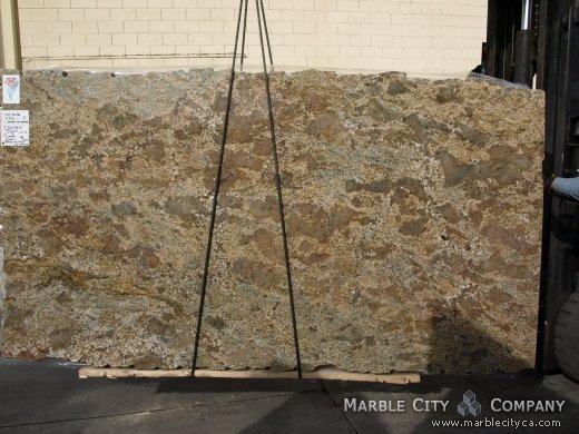 Pompei - Granite Countertops San Francisco, California. Slab view — Slab View