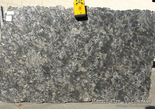 Metallic Brashed - Granite Countertops Bay Area, California. Slab view — Slab View