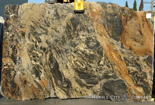 Comet New - Granite Countertops Bay Area, California. Slab view — Slab View