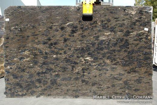 Black Forest Gold - Granite Countertops San Francisco, California. Slab view — Slab View