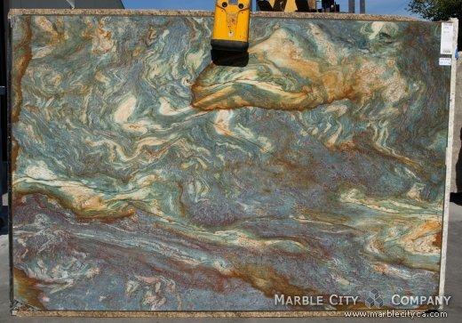 Luise Blue Granite Multicolor Brazilian Granite At