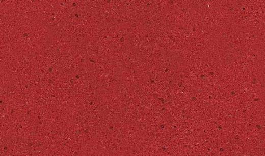 Indus Red - Zodiaq Quartz Countertops Bay Area, California. Slab view — Slab View
