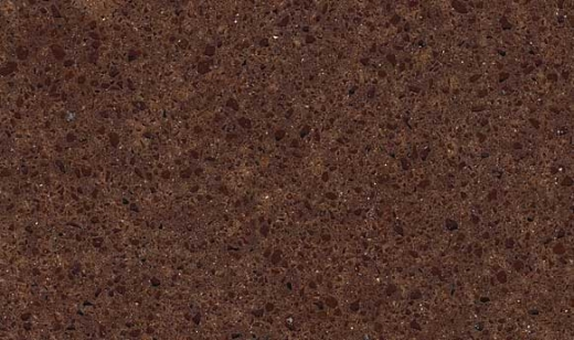 Saddle Brown - Zodiaq Quartz Countertops Bay Area, California. Slab view — Slab View