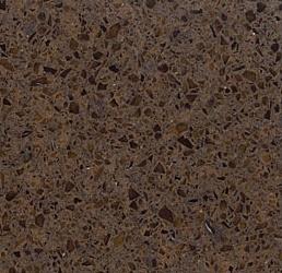Coffee Brown - Silestone Quartz Countertops San Francisco, California. Slab view — Slab View