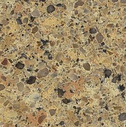 Giallo Quarry - Silestone Countertops San Jose, California. Slab view — Slab View