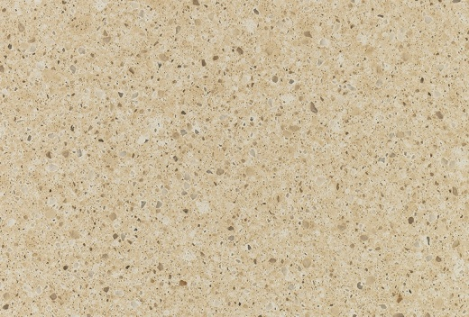 Coswell Cream - CambriaQuartz Countertops San Francisco, California. Slab view — Slab View