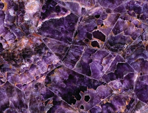 Viola - Semi-Precious Countertops San Francisco, California. Slab view — Slab View