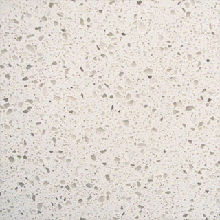 Iced White - MSI Quartz Countertops San Francisco, California. Slab view — Slab View
