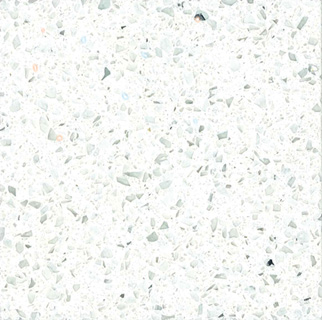 Sparkling White - MSI Quartz Countertops Bay Area, California. Slab view — Slab View
