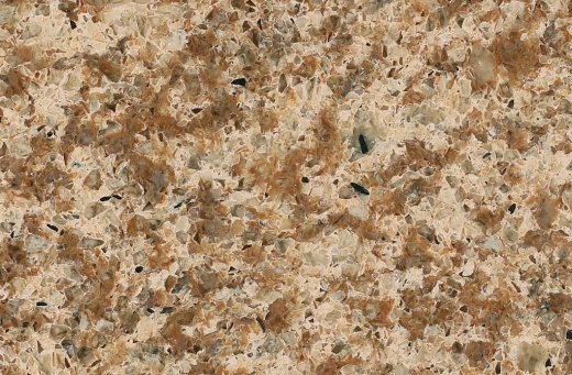 Chocolate Truffle - Caesarstone Quartz Countertops San Francisco, California. Slab view — Slab View