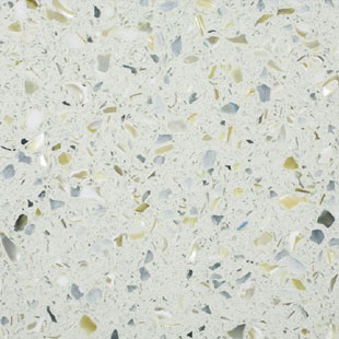 Sky Pearl - IceStone Countertops San Francisco, California. Slab view — Slab View