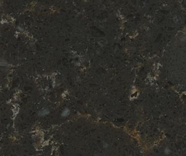 Dragon Black - Silestone Quartz Countertops San Francisco, California. Slab view — Slab View