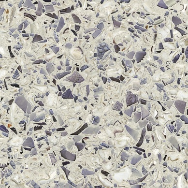 Amethystos - Vetrazzo Countertops Bay Area, California. Slab view — Slab View