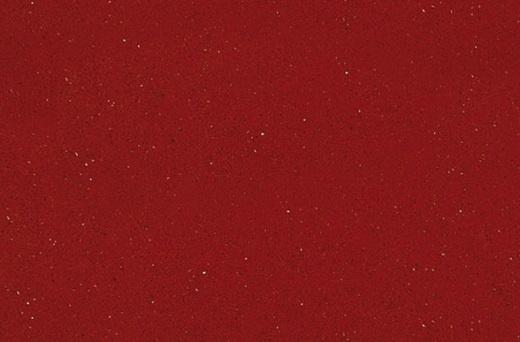 Red Shimmer - Quartz Countertops San Francisco, California. Slab view — Slab View