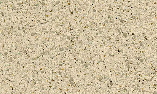 Coriander - Zodiaq Quartz Countertops San Francisco, California. Slab view — Slab View