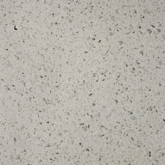 Sparkling White - PentalQuartz Countertops Bay Area, California. Slab view — Slab View