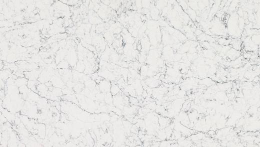 White Attica - Caesarstone Quartz Bay Area. Slab View — Slab View